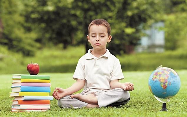 Ung meditatör